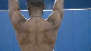 Scapular Depress and Retract with Arms Overhead