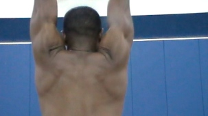 Scapular Elevation with Arms Overhead