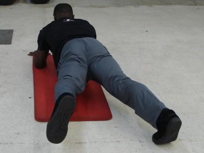 Plank with Leg Lift
