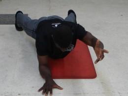 Plank Opposite Arm Extended