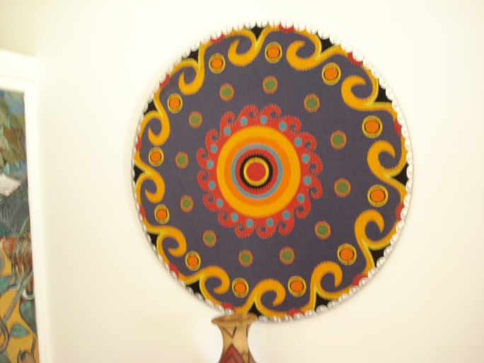 A Mandala made of Beads