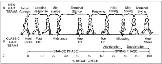 How walking is defined